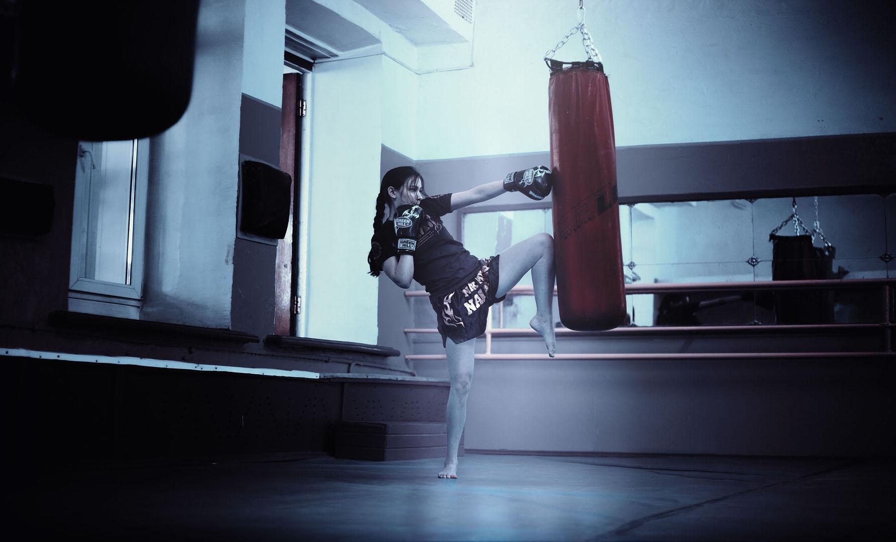 kickboxer-girl メンタルヘルス対策としても効果的なキックボクシング